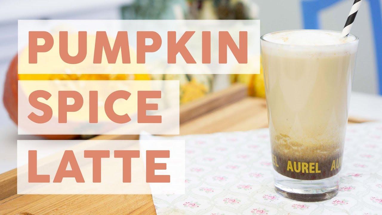 pumpkin spice latte einfaches rezept youtube. Black Bedroom Furniture Sets. Home Design Ideas