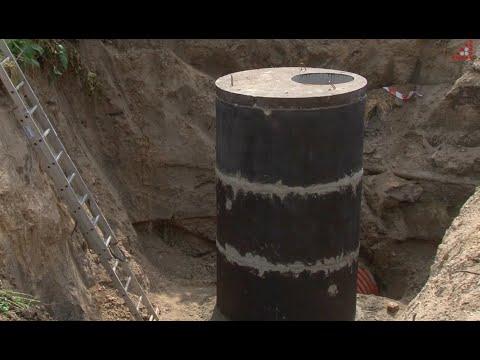Телеканал «Дитинець»: На місці руйнації колектору на Шерстянці завершують роботи по санації каналізаційної труби