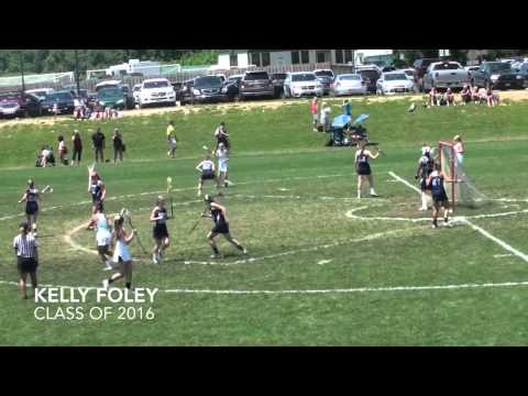 Kelly Foley Lacrosse Highlights - Academy of the Holy Cross