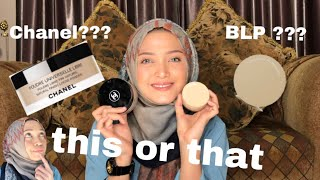 CHANEL vs BLP by Lizzie Parra Loose powder THIS OR THAT Bagusan mana