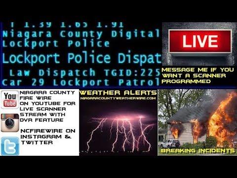 071618 AM  Niagara County Fire Wire  Police & Fire Scanner Stream
