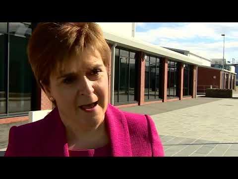"Nicola Sturgeon compares ""sexist"" Alex Salmond to Benny Hill"