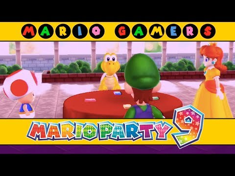 Mario Party 9 - Step It Up (Free-for-All-Minigames)