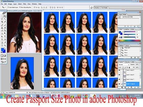 Create passport size photo in adobe photoshop youtube create passport size photo in adobe photoshop ccuart Choice Image