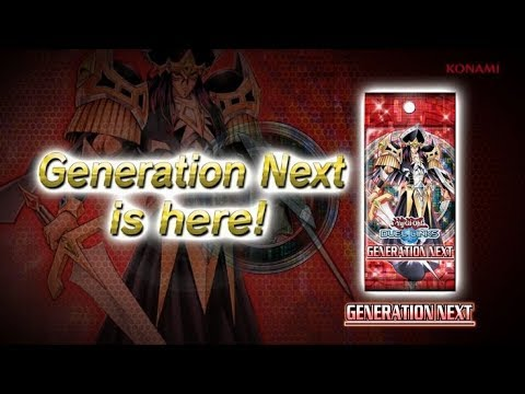 Yu-Gi-Oh! Duel Links - New BOX Preview: Generation Next