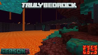 Truly Bedrock Season 2 Episode 9: Bridge Building and Blaze Farm Upgrades