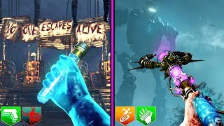 BEST 2 ZOMBIES EASTER EGGS OF ALL TIME! | MOB & ORIGINS | BLACK OPS ZOMBIES!