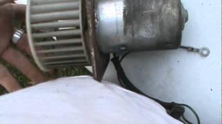 Removing blower motor, non-AC A-body Mopar