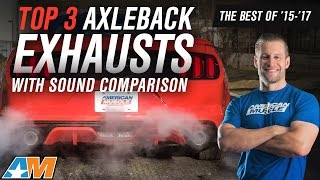 The 3 Best Axle Back Exhausts for 2015+ Mustang GT 💨