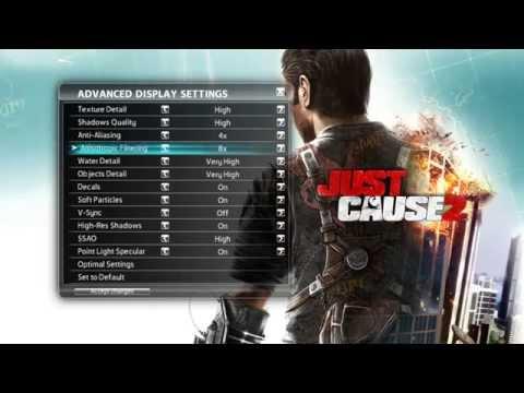Configuracion y gameplay Just Cause 2
