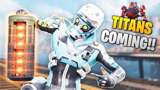 *NEW* TITAN BATTERY FOUND IN APEX!! | Best Apex Legends Funny Moments and Gameplay - Ep.129