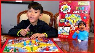 Ryan's Ludo Fun Board Game | Lorenzo Plays With  the New Ryan ToysReview Board Game