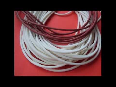 Шнур резиновый круглого сечения МБС диаметры 4-30 мм