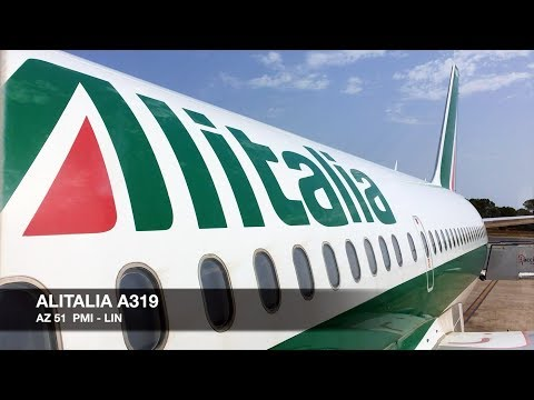TRIP REPORT | Alitalia A319 | Palma de Mallorca PMI ✈ Milan Linate LIN | Economy Class