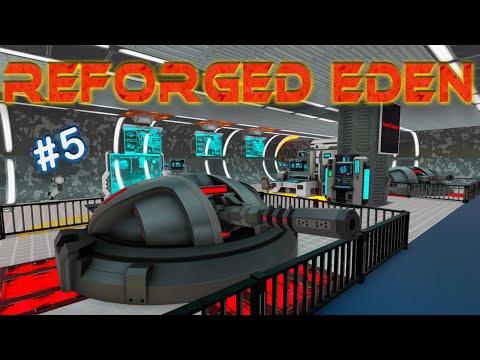 FIRST LOOT HAUL, ABANDONED FACTORY | REFORGED EDEN | Empyrion Galactic Survival | #5