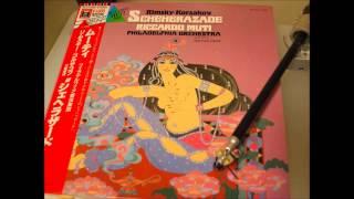 リムスキー=コルサコフ 交響組曲「シェへラザード」第1部、第2部