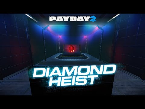 PAYDAY 2: Diamond Heist: One Down, Solo, Pacifista, Todas las bolsas (Diamante rojo + Zafiros)