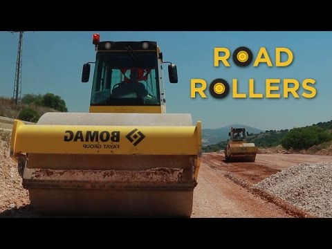 Trucks Road Rollers and Tractors  | Videos For Children | 🚚 Toys for Boys