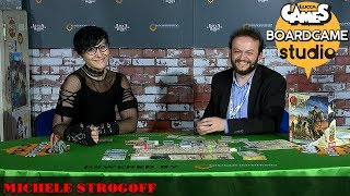 Lucca Comics & Games] Boardgame Studio: Michele Strogoff