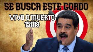 15M$ por Nicolas Maduro (vivo o muerto) *la demencia* | Venezuela