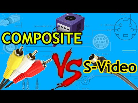 Composite vs S-Video | Image quality comparison | w/Gamecube and N64!