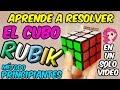 COMO RESOLVER EL CUBO DE RUBIK 3x3 - Tutorial Fácil para Principiantes - Español - Xole Rubik