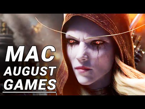 Top 10 New Mac Games of August 2018