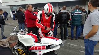 Hockenheim Classics 2017 onboard - Sepp Hage - The Movie - YAMAHA TZ 500