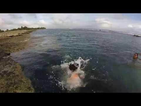 Airport Oceanside Swimming, Majuro, Marshall Islands, Berger