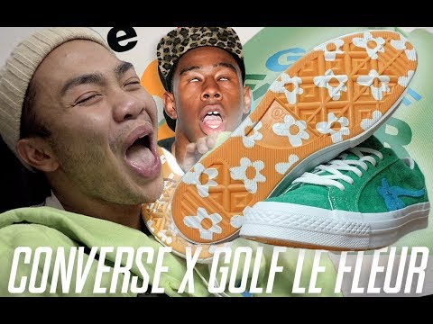 DROWNING IN GOLF LE FLEUR! | Converse One Star x Tyler, the Creator Review & On Feet