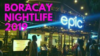 Boracay Nightlife 2019 | Walking Tour Boracay Island Philippines at Night!