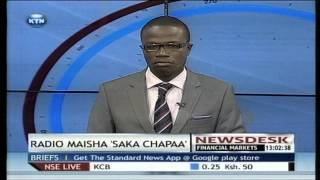 The first winner of Radio Maisha's Saka Chapa pockets Ksh. 100, 000
