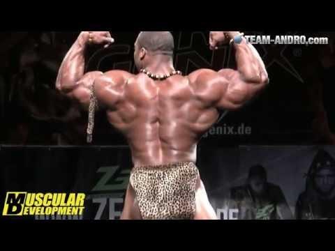 Cedric McMillan Guest Posing in Germany