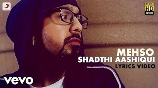 Mehso - Shadthi Aashiqui  | The Revolution | Lyric Video