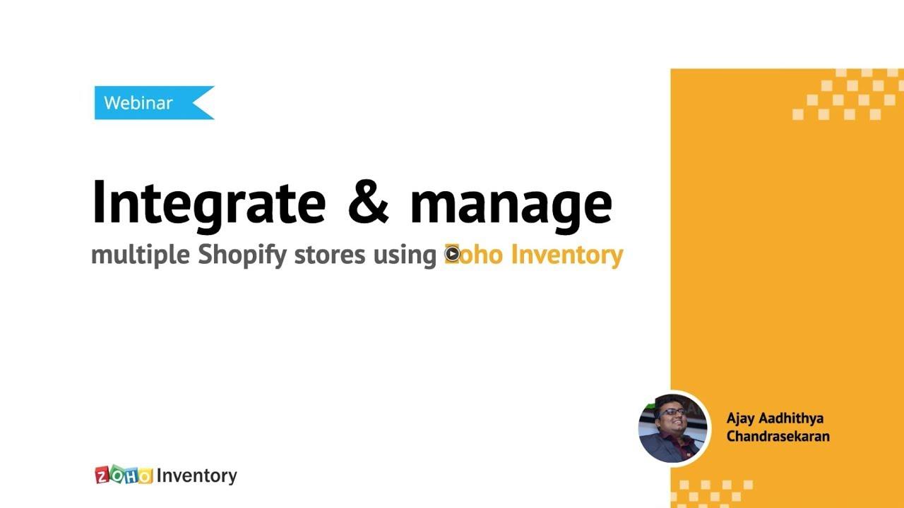 Shopify Integration:: User Guide | Zoho Inventory