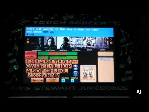 Home made Touchscreen Wireless Jukebox
