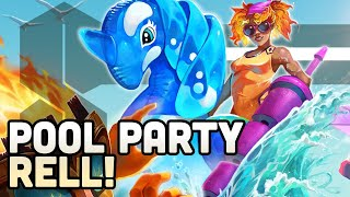 How we Designed NEW SKINS for League of Legends Champions - POOL PARTY!