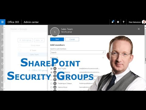 SharePoint Online Security Groups - Create And Use