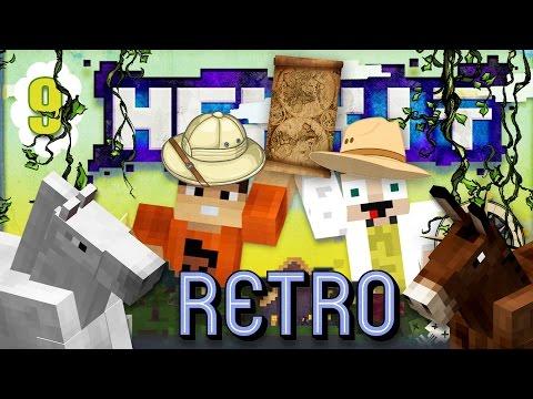 [Minecraft] Retro Hexxit - ep. 9 - DIVOKÉ KONE A VÝPRAVA DO NEZNÁMA!