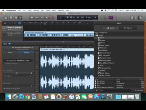 Garageband for Dance Teachers: How to speed up/slow down a song