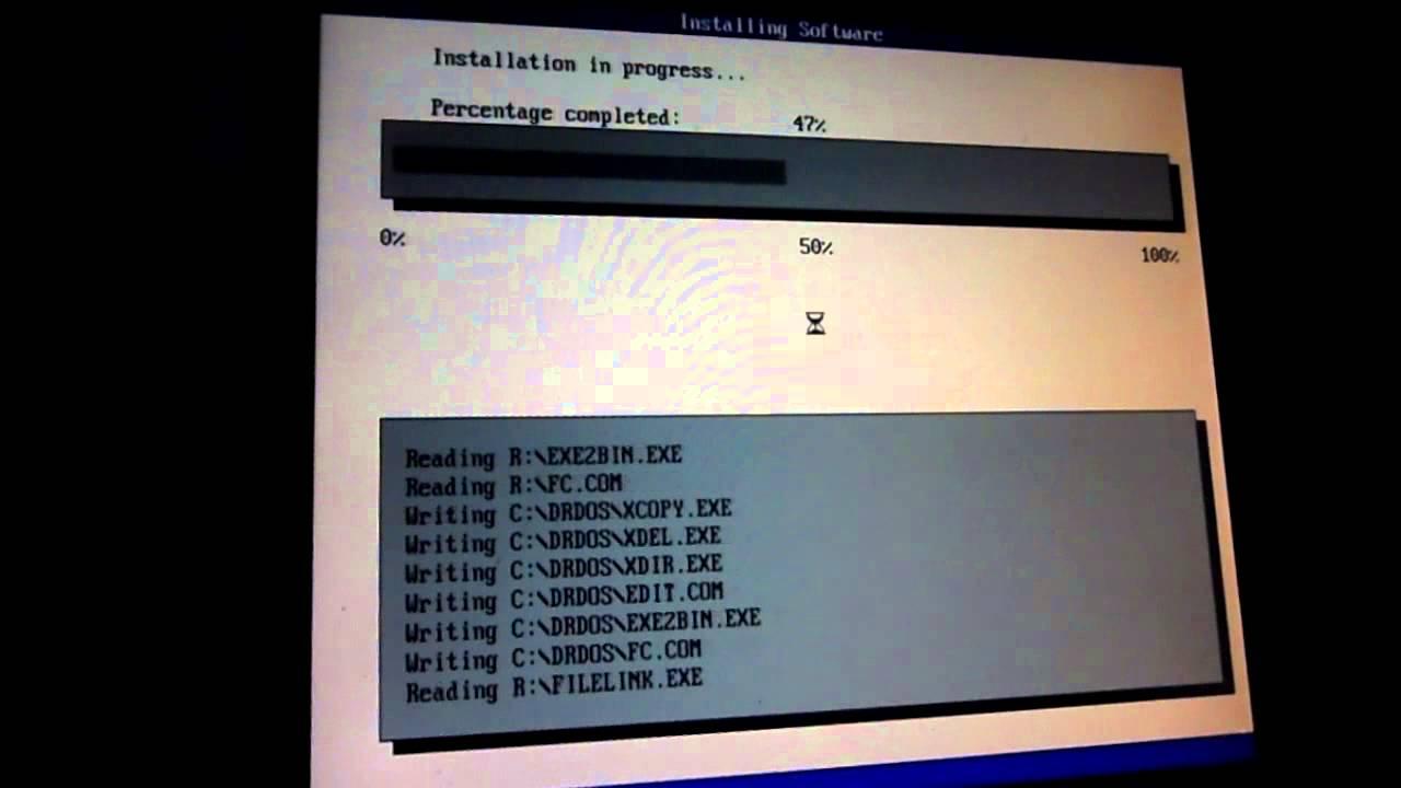 Dr-dos 7. 03 (x86) running under virtualbox youtube.