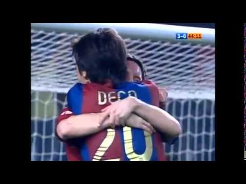 FC Barcelona - Getafe CF 2007 All Goals [5-2]