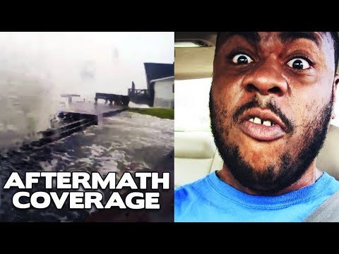 Hurricane Harvey AFTERMATH Coverage - DRIVING AGGRESSIONS!  @DCIGS