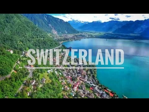 Switzerland seen from the Sky - 4K DJI Phantom 4