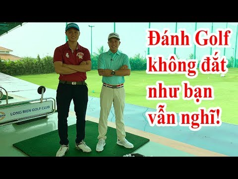 Một Buổi Tập  Tại Sân Golf Long Biên Của Hùng Hàng Hiệu