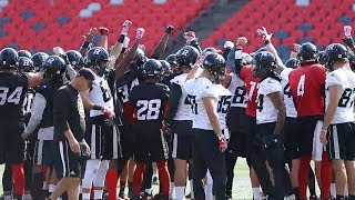 Ottawa Redblacks Practice: Football is the ultimate team sport