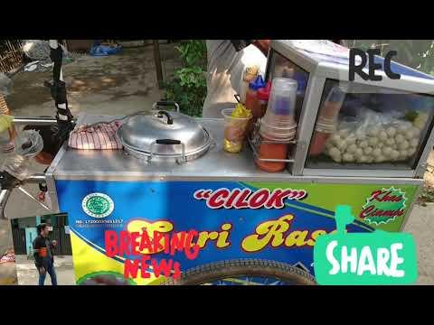 Viral Penjual Cilok Eeenak Rasa Daging Sapi Bpk Sumardi Asli Bumiayu Jawa Tengah