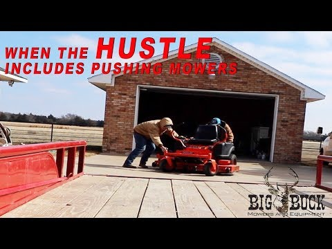 When the hustle includes pushing lawn mowers Vlog008