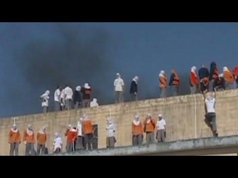 4 dead, 2 decapitated in Brazil prison riots - YouTube