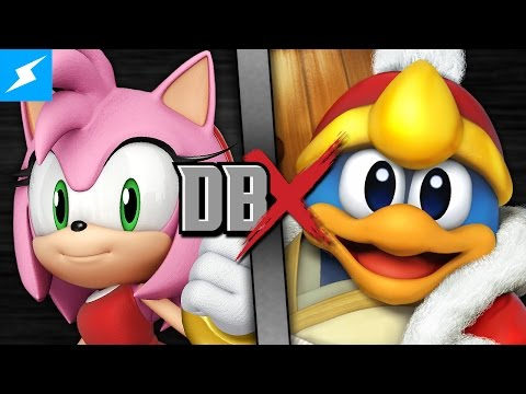 DBX: Amy Rose VS King Dedede (Kirby VS Sonic the Hedgehog)